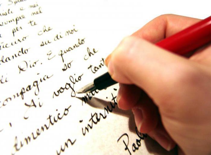 эссе образец написания