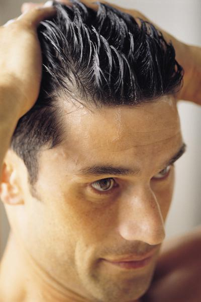Укладка волос воском