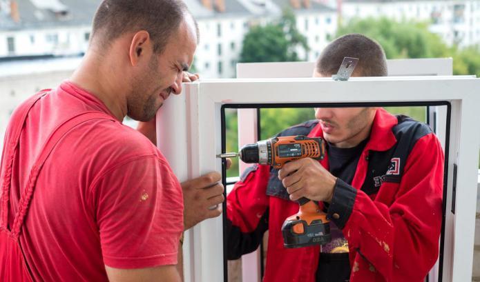 установка пластиковых окон в доме