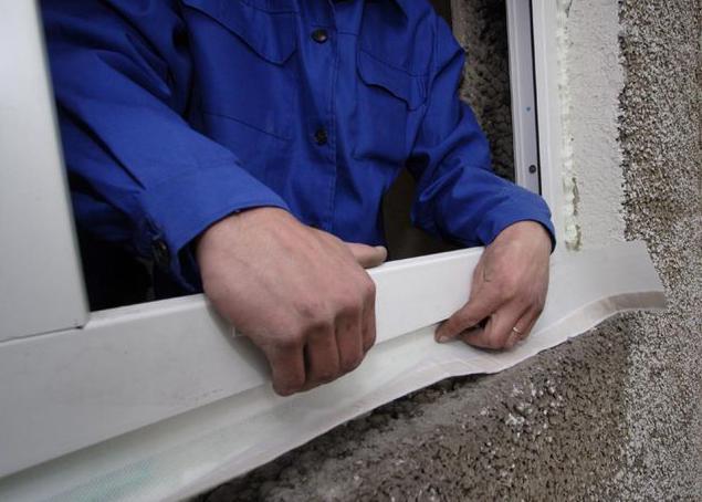 пластиковые окна установка своими руками