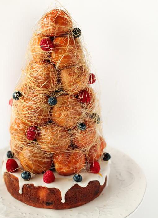 торт крокенбуш рецепт