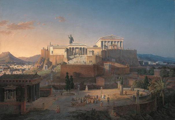афины географическое положение