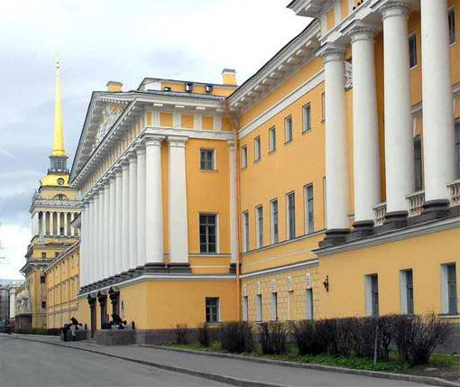 здание адмиралтейства архитектор