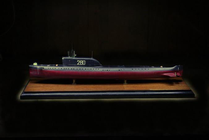советская подводная лодка к 19