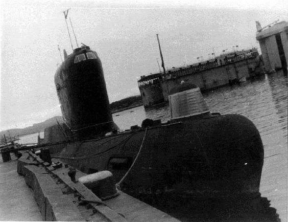 подводная лодка к 19 история