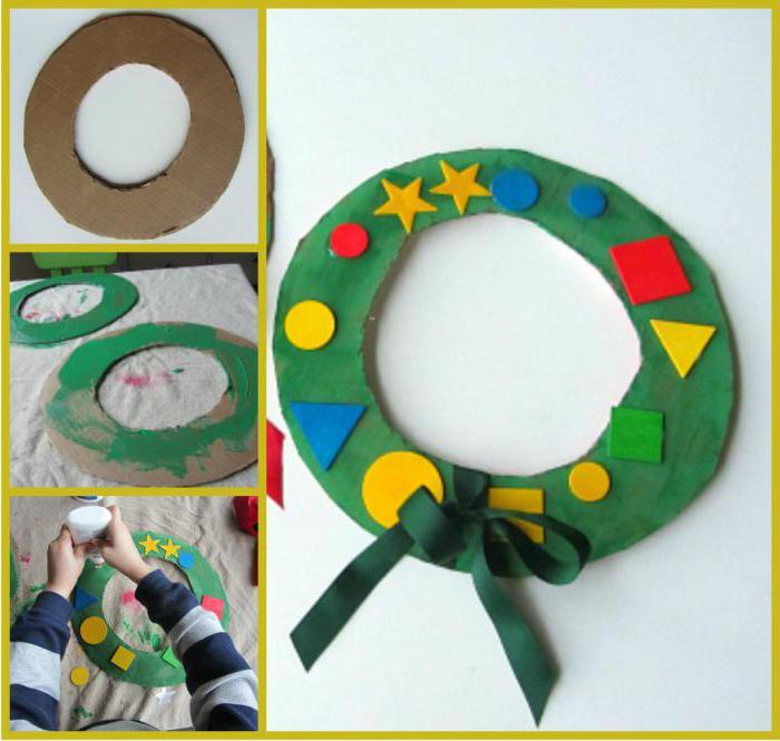 простые поделки для детей 3-4 лет