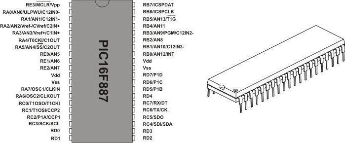 схемы на pic контроллерах