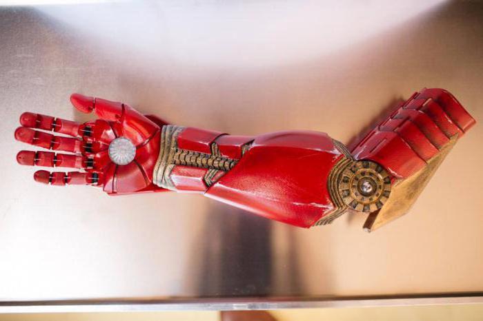 как сделать железную руку
