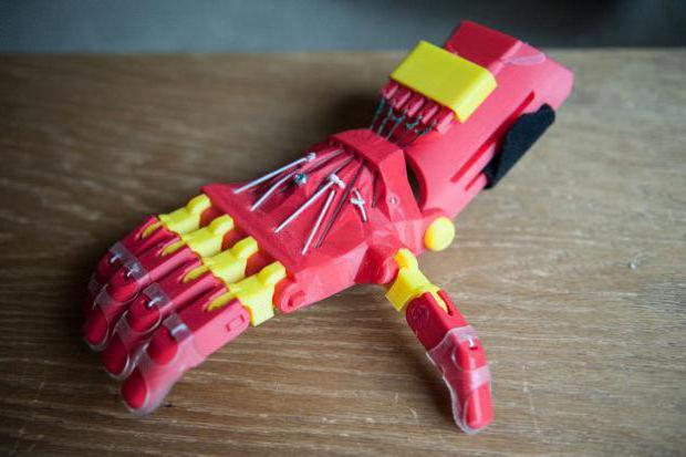 как сделать железную 3d руку своими руками