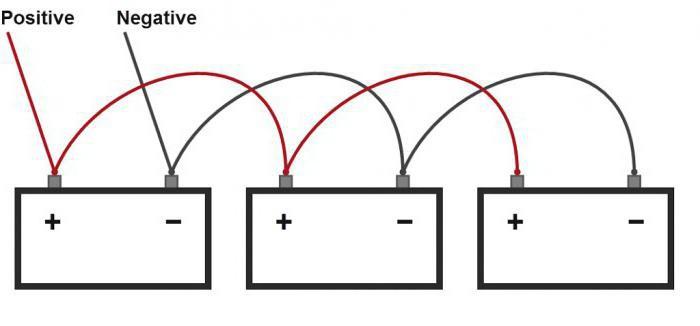соединение двух аккумуляторов параллельно
