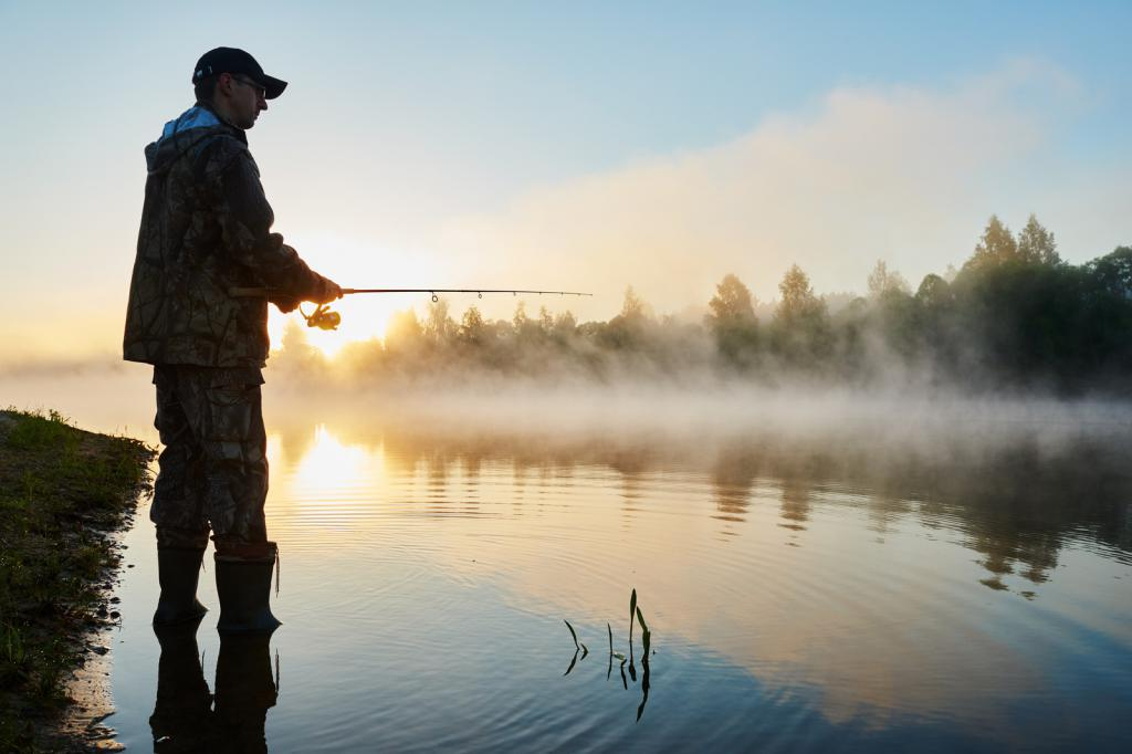Любителям рыбалки на картинках