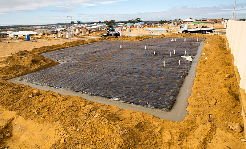 preparation and arrangement of the construction site