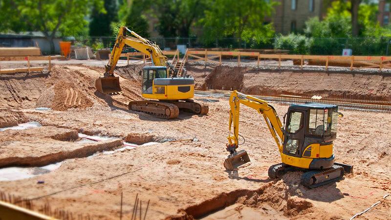 construction site preparation work