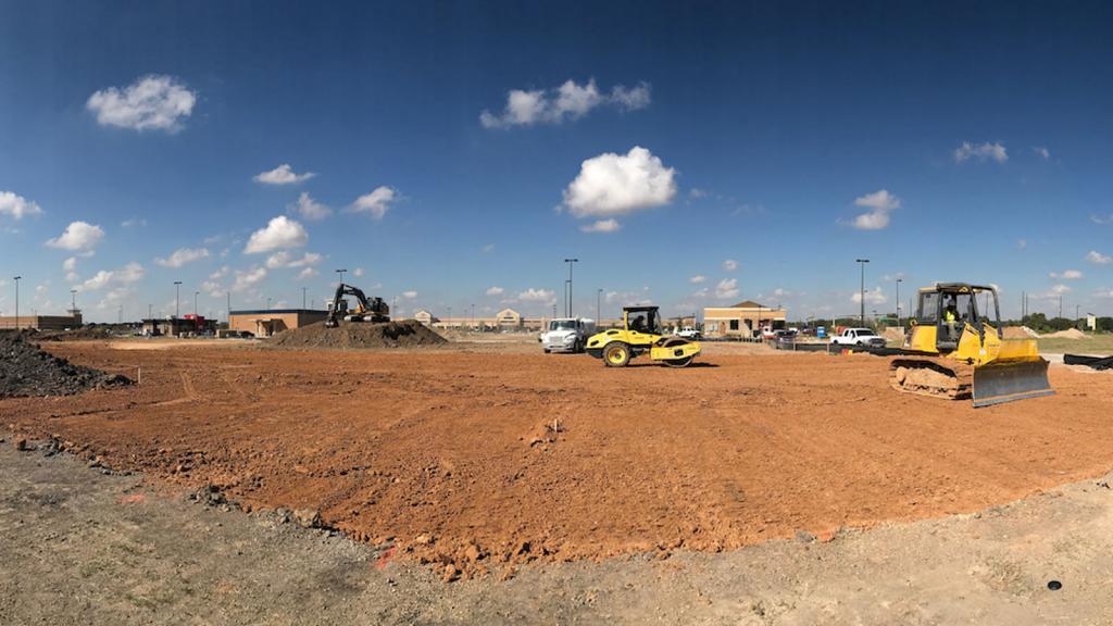 site preparation for construction