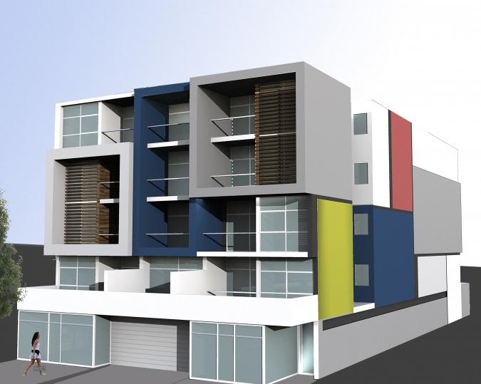 здание средней этажности