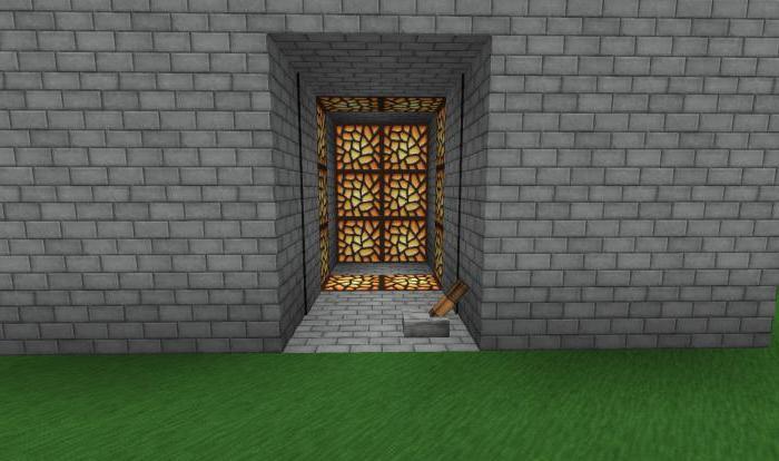 Как сделать дверь в майнкрафте