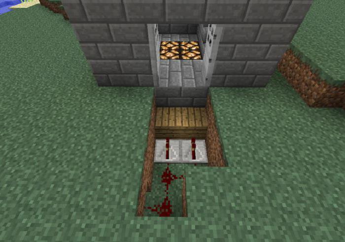 Дверь в minecraft как сделать