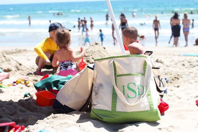 Сумка-покрывало для пляжа своими руками