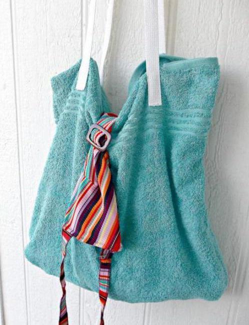 сумка покрывало для пляжа