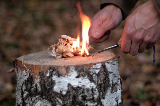 как использовать огниво