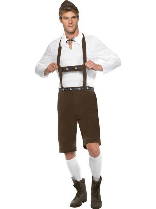 национальный немецкий костюм детский