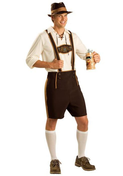 национальные немецкие костюмы