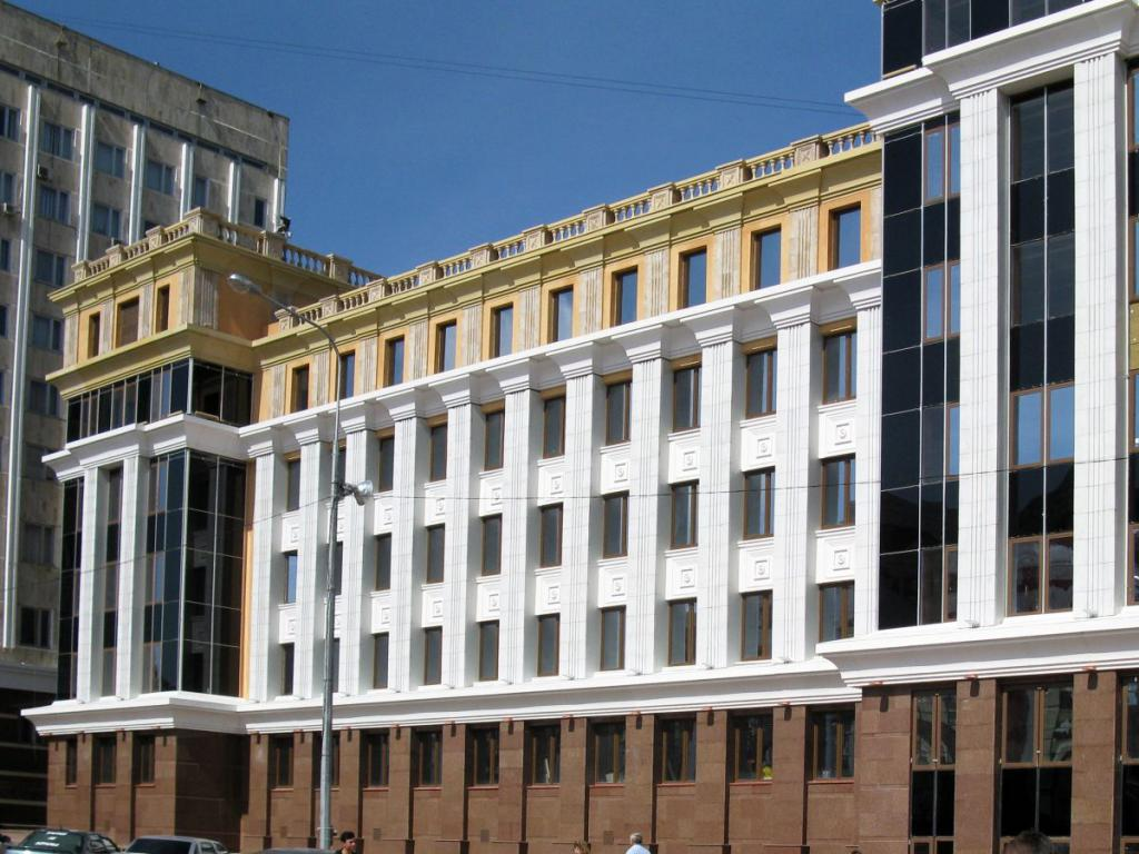 Mordovia University building
