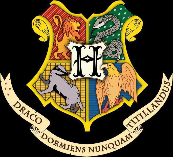 гербы хогвартса
