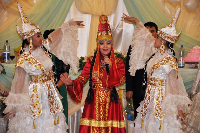 казахская свадьба обычаи
