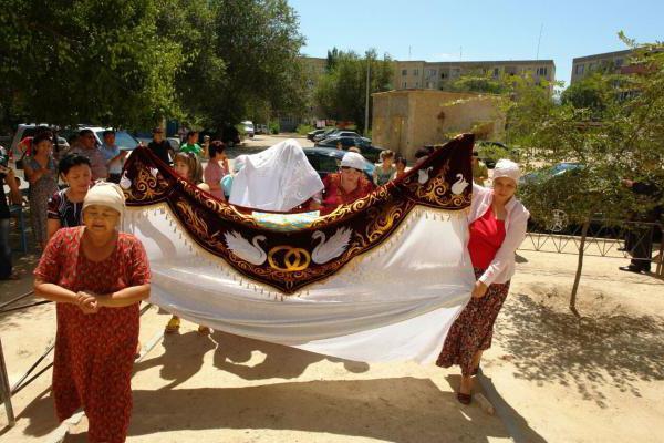 казахская свадьба платье невесты