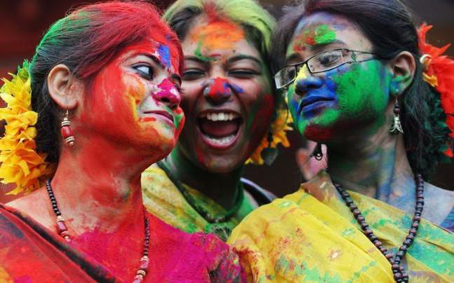 в индии праздник холи