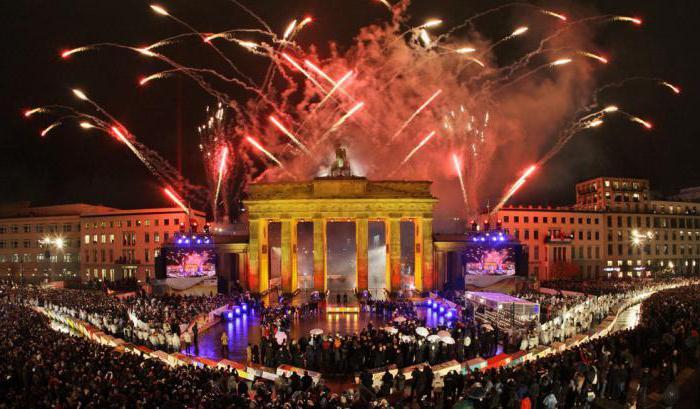 немецкие праздники и обычаи