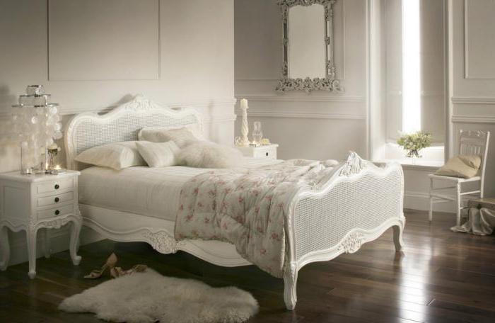 кровати в стиле прованс