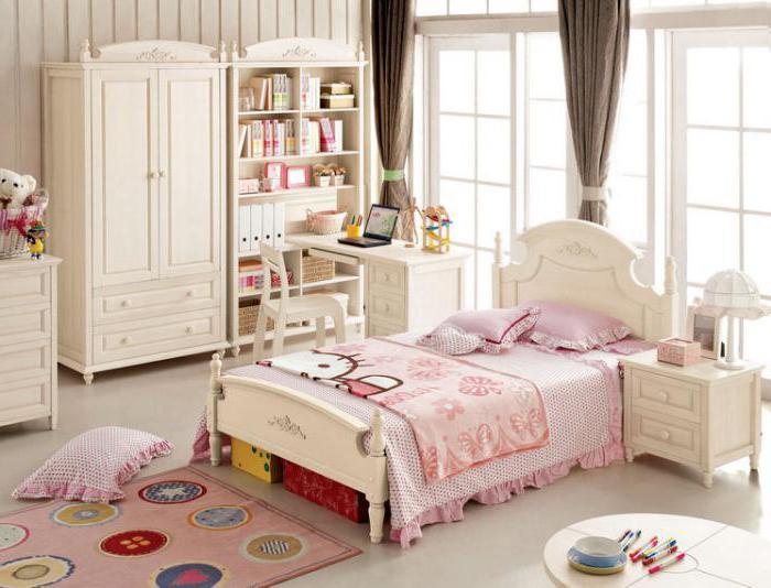 кровать для девочки в стиле прованс