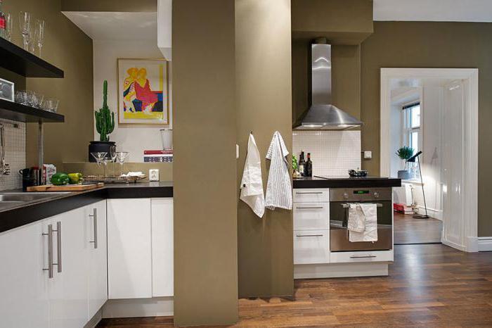 интерьер в скандинавском стиле однокомнатной квартиры