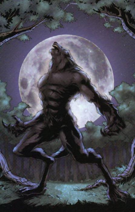 сон волки оборотни