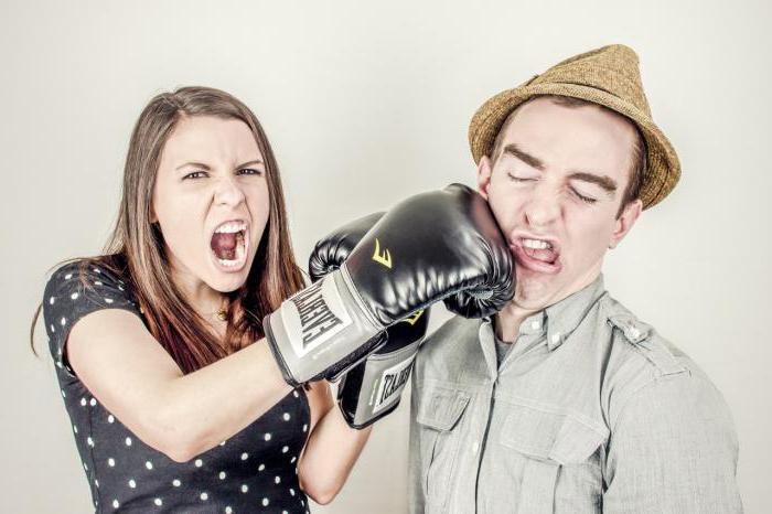 сонник женщина бьет мужчину