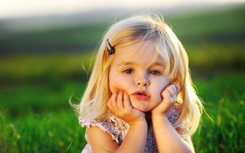 Лидия в детстве