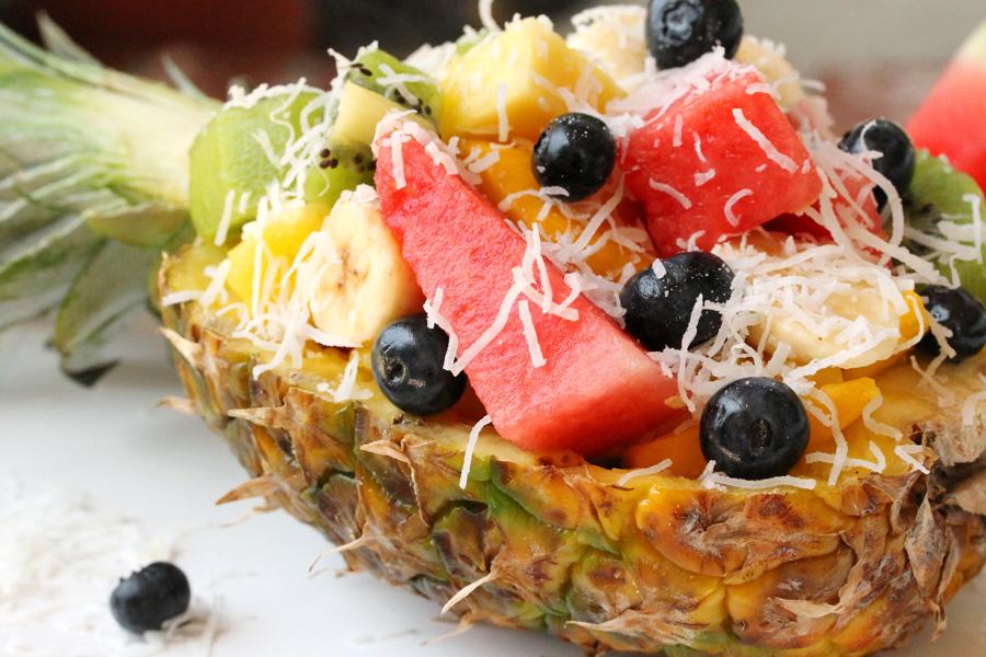 как подать фруктовый салат