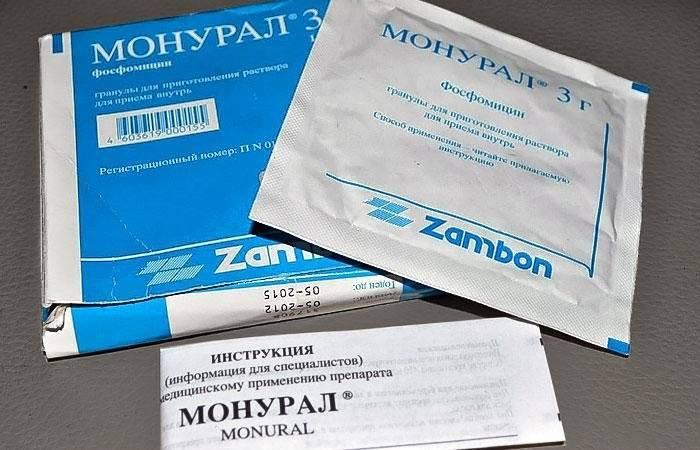 Монурал - Официальная инструкция