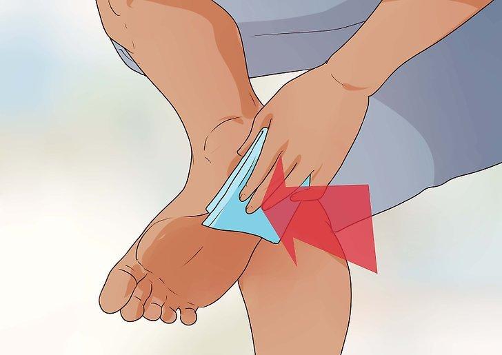 поранить ногу во сне