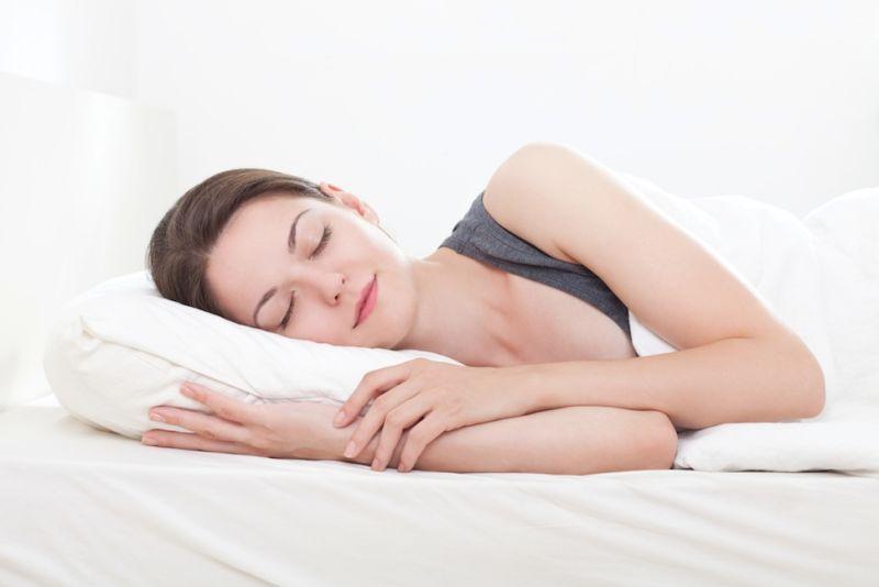 женщине снится ткань