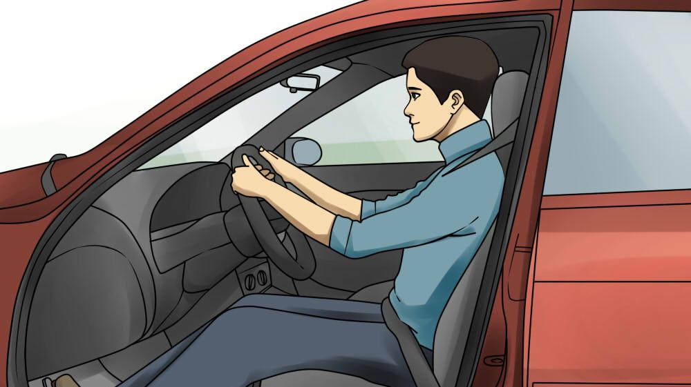 Как сидеть за рулем автомобиля