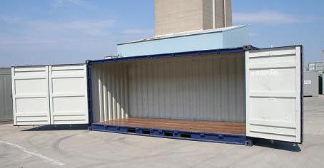 типы контейнеров для перевозки