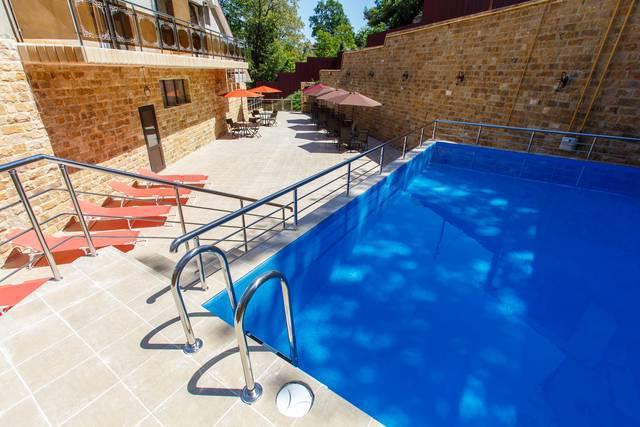 гостевой дом адлер с бассейном отзывы