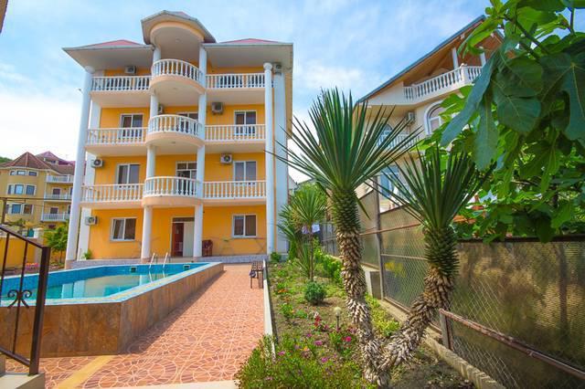 адлер гостевые дома с бассейном