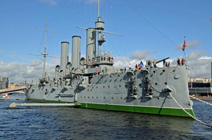 где стоит крейсер аврора