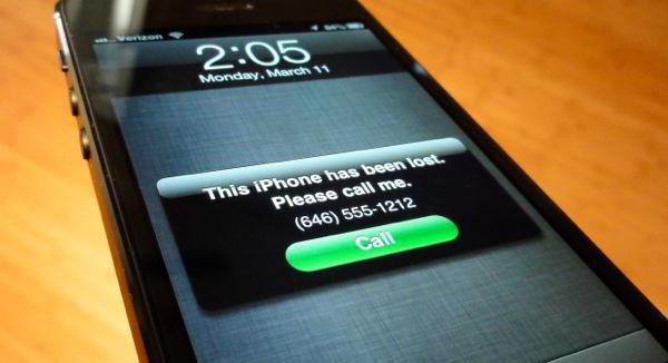 Если потерял айфон как его найти