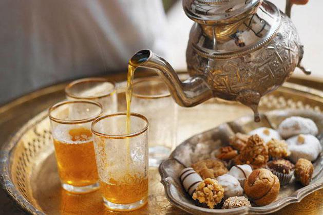 Марокканский чай состав