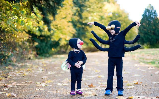 костюм паука детский